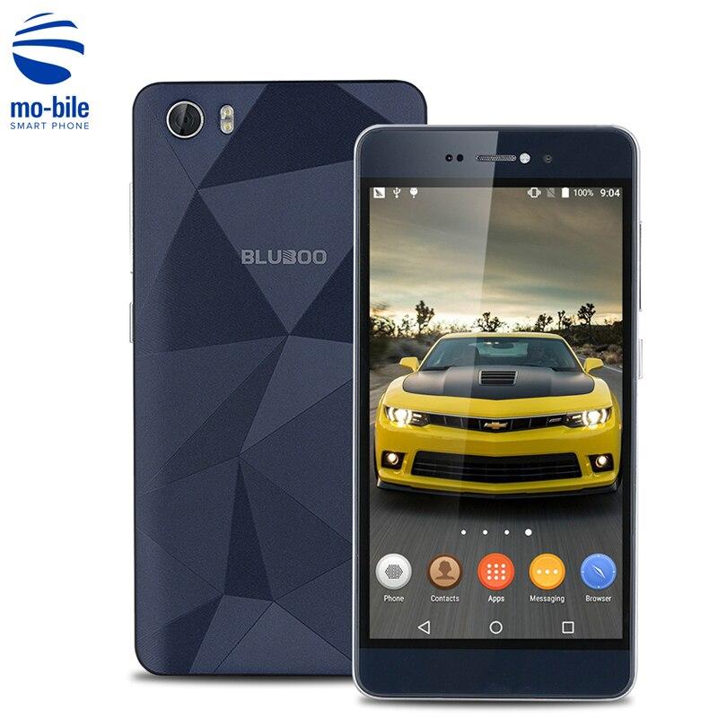 Цена за Оригинальные bluboo пикассо android 6.0 mtk6735 quad core 4 г сотовый телефон 5.0 Дюймов HD Экран Мобильного Телефона 2 Г RAM 16 Г ROM Смартфон