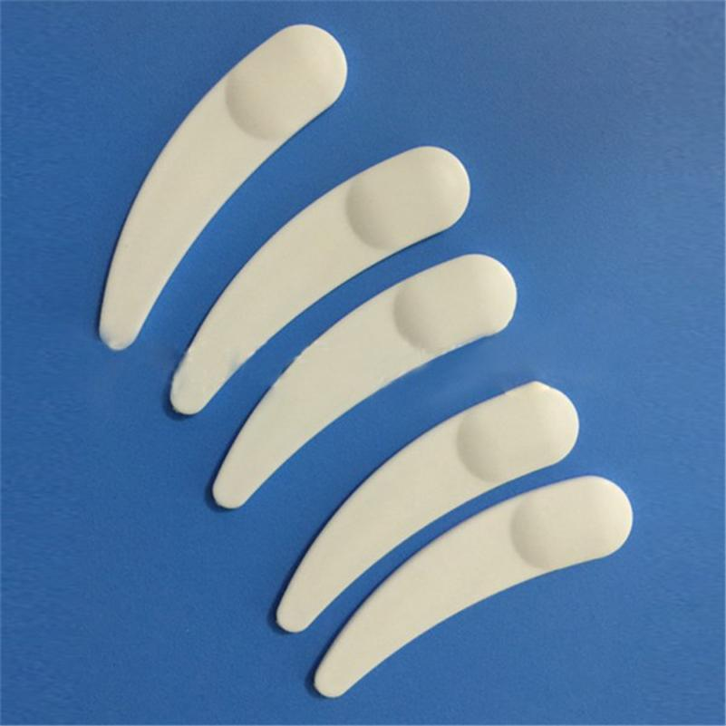50pcs Mini Cosmetic Spatula Scoop Disposable Mask White Plastic Spoon Makeup Maquillage Tools P WD3