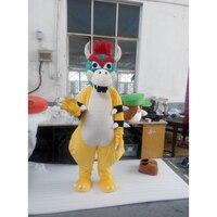 Cospalydiy Süper Mario Yoshi Ejderha Kaplumbağa Maskot Hayvan Kostüm Maskot Cadılar Bayramı ve Noel Partisi Kostüm L0516