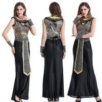 Quality Sexy Halloween cosplay Costume Masquerade Costume Arab Female Roman Princess Ancient Egyptian Renaissance Cleopatra