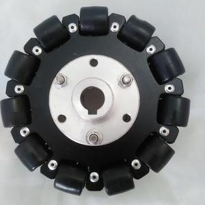 Image 2 - 127mm Plataforma Chassis Robô Roda Direcional Omni
