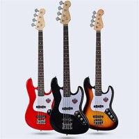 Electric Bass Guitar Music Man Bongo Metal 4 Strings Active Pickups Bass Guitar Musicman Bass Guitar