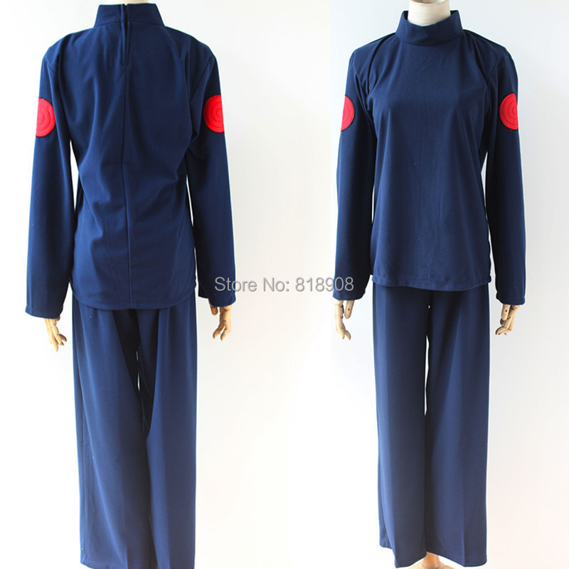 Naruto Cosplay Hatake Kakashi Hokage GREATER NINJA Halloween party cosplay costume one set ( top + pant )