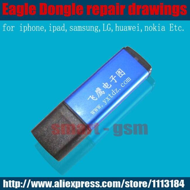 ZXWDGES Fei Ying Aigle Dongle mobile De Réparation Réparation conseil téléphone mobile téléphone PCB circuit dessins que ZXWTEAM fonctionne mieux