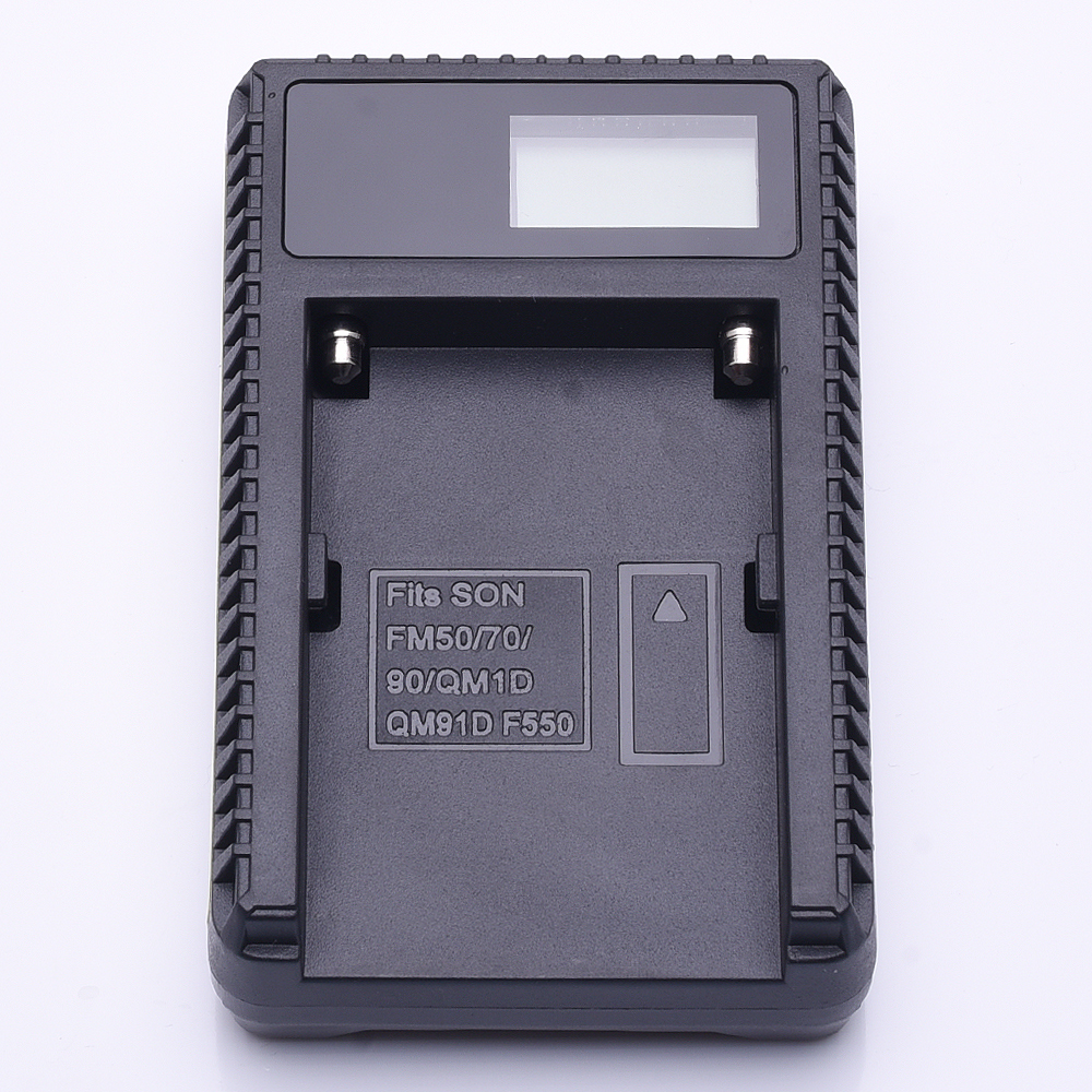 NP-FM50 NP FM50 Camera Battery LCD Charger USB Cable For Sony Series FM55H FM500H QM71 NP-F570 F750 F960 F970