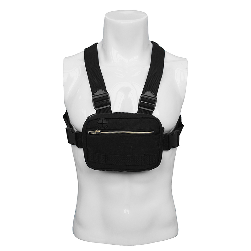 2019 Mini Men Chest Rig Streetwear Outdoor Sports Waist Bag Military Climbing Shoulder Bag Phone Money Belt Tactical Chest Bags ヘッドスパ 用 シャンプー 台