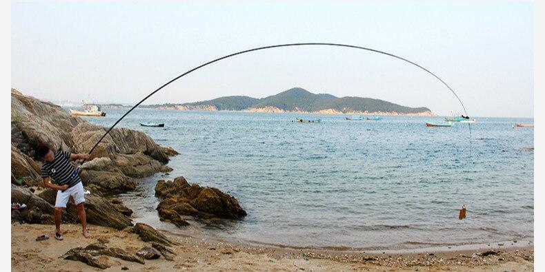 Equipamento de Pesca m Fiação Mão Peixe Haste