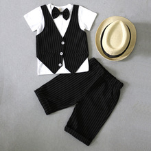 LUOBOBEIBEI Baby Boy Clothes Toddler Boys Summer Kid Out Fits Kids Fashion Set Spring Sets 2019
