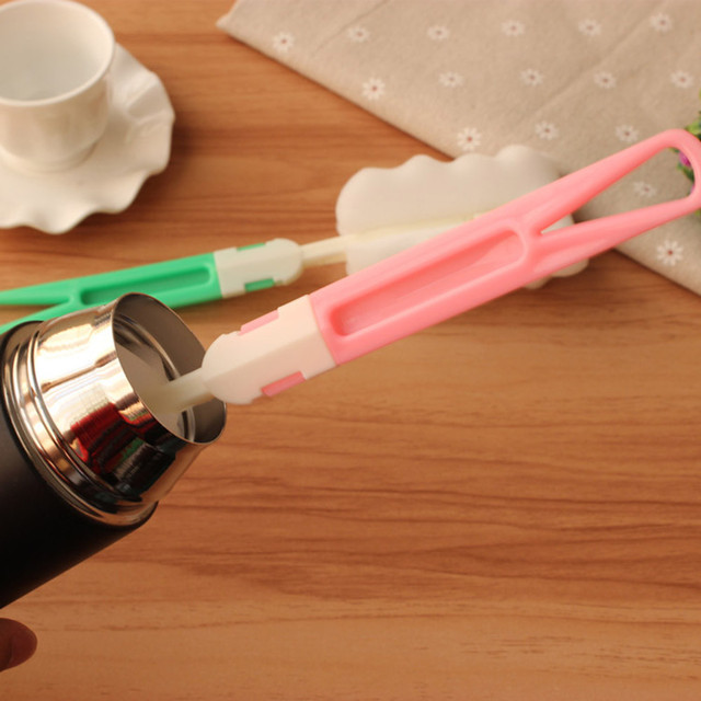 Baby High Grade Clean Sponge Child Special Bottle Brush