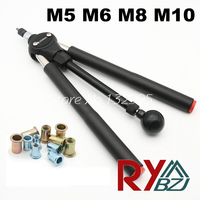 Rivet nut guns M5 M6 M8 M10 Double Hand Manual Riveters Hand Blind Rivet Tool SSM8100 Fast riveting