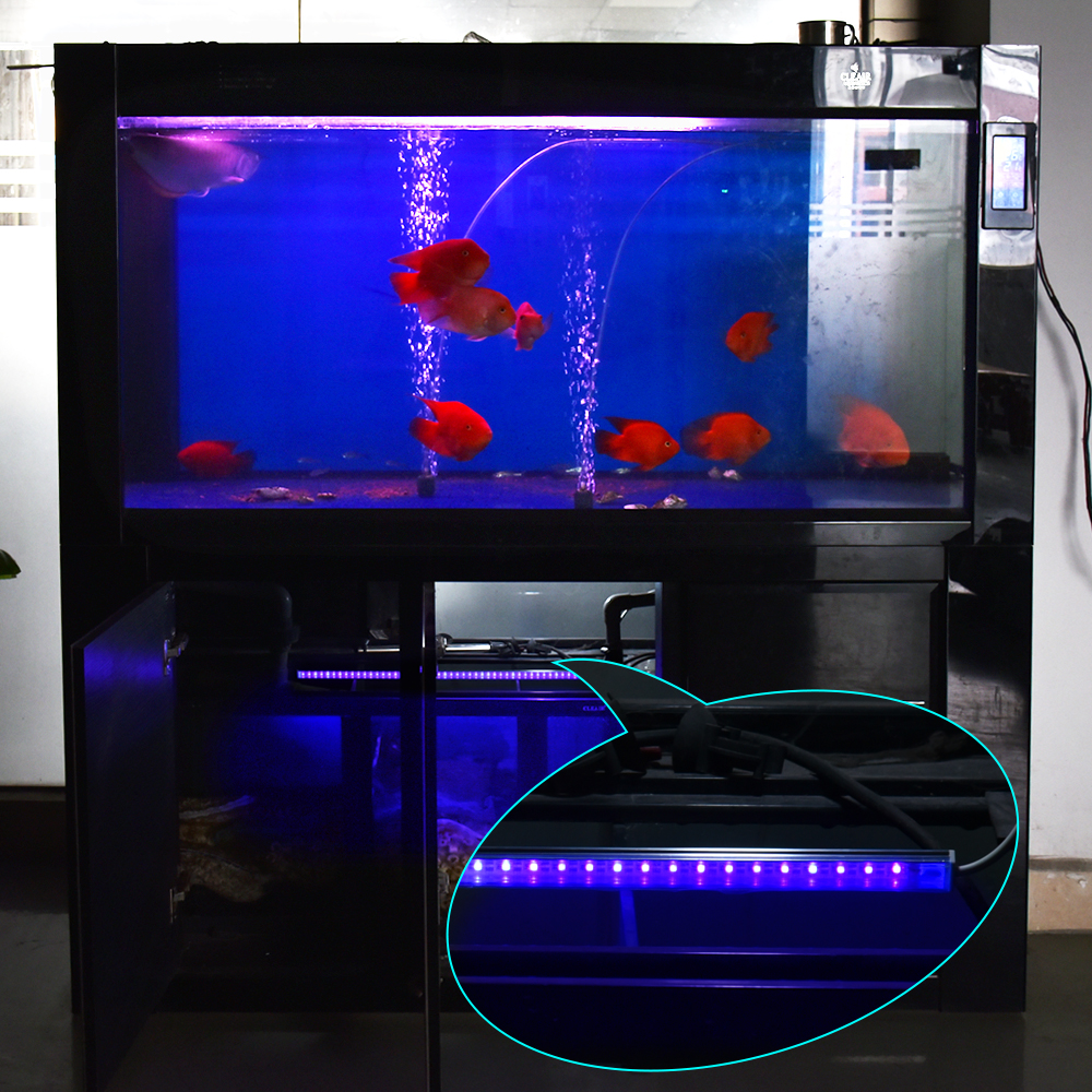 50cm uv sterilizer lamp ultraviolet filter water cleaner for Uv filter for fish tank