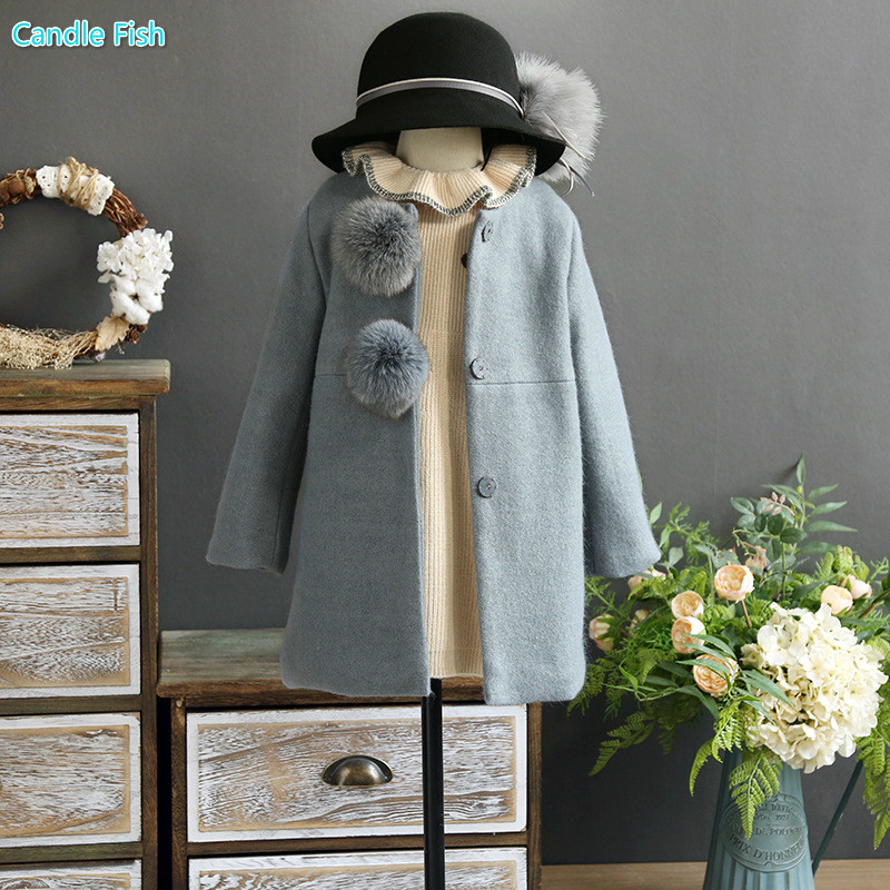 Girl 2017 autumn and winter new high-end brand temperament raccoon hair ball horse hair wool wool long coat free shipping 639392 001 for hp pavilion dv7 dv7 6000 dv7t motherboard 6770 1g all functions 100% fully tested