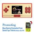 Envío de la venta caliente 2.6 Pulgadas Retro Mano Consola de juegos Portátil Envío 600 juegos de NES Consola de videojuegos Clásicos regalo para el cabrito