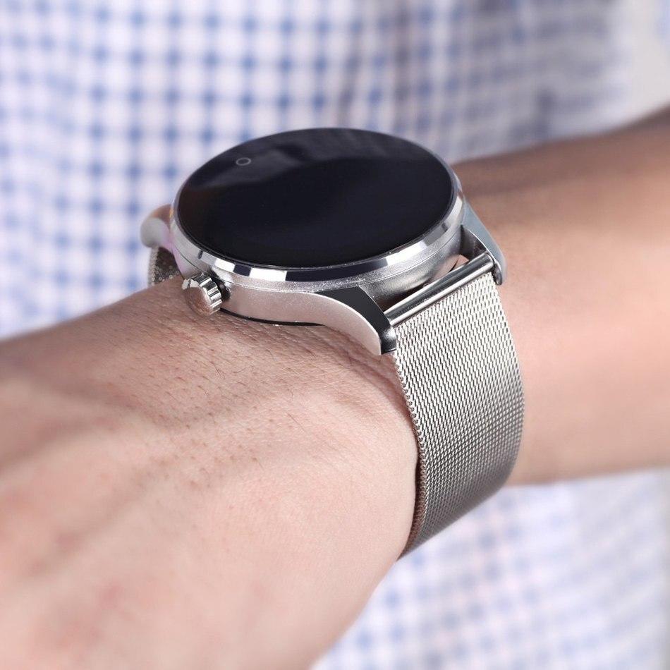 D'origine K88H Montre Smart Watch Piste Montre-Bracelet MTK2502 Bluetooth Smartwatch Moniteur de Fréquence Cardiaque Podomètre Numérotation Pour Android IOS - 4