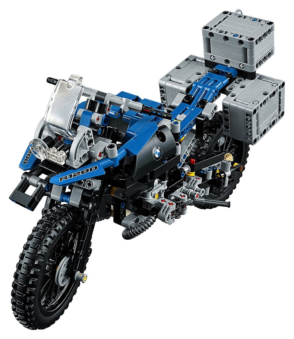 Lepin 20032 Technic Series The BAMW Off-road Motorcycles R1200 GS Building Blocks Bricks Educational Toys for Kid 42063 lego technic конструктор приключения на bmw r 1200 gs 42063