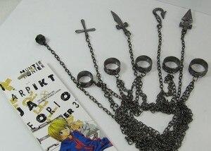 Jewelry Ring Anime Katekyo Hitman Reborn Sawada Tsunayoshi Cosplay Necklace Vongola Rings Action Figure Cosplay Toy(China)