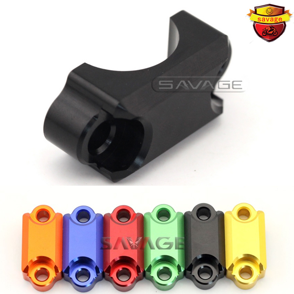 For KAWASAKI EX250R NINJA 250/250R/300 Z250 Z300 Motorcycle CNC Brake Master Cylinder Clamp Handlebar Bar Clamp Cover 250