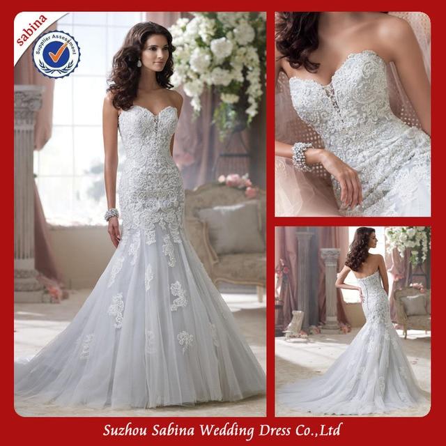 Sh0457 Made To Order Wedding Dresses China Mermaid Fishtail 2014