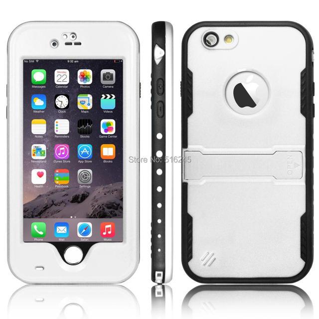 Caso de telefone, à prova d ' água à prova de choque à prova de neve sujeira Smat caso capa para o iPhone 6 4.7 polegadas à prova d ' água