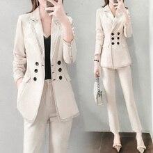 Formal Women Blazers Suits Sets Casual Office lady Work Wear