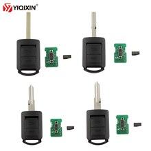 YIQIXIN 2 Buttons Remote Key 433Mhz ID40 Chip For Opel/Vauxhall Corsa Astra Combo Van Meriva Tigra Agila Vectra