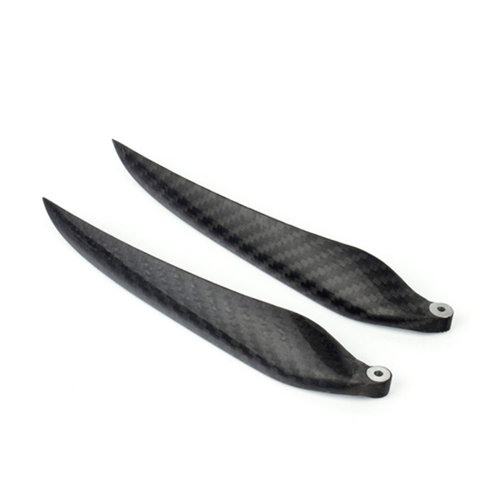 1 Pair 18*10 inch Two Blades Fold Carbon Fiber Propeller for RC Fixed-wing Airplane RC Glider Airplane Accessory 1pc 27 10 carbon fiber propeller 2 blades for rc gas airplane engine super strong light