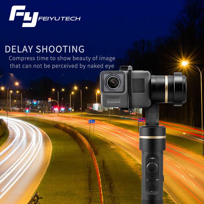 FeiyuTech G5 3 оси ручной карданный брызг для GoPro HERO 7 6 5 4 3 3 + Xiaomi yi 4 k SJ Экшн-камера AEE камеры