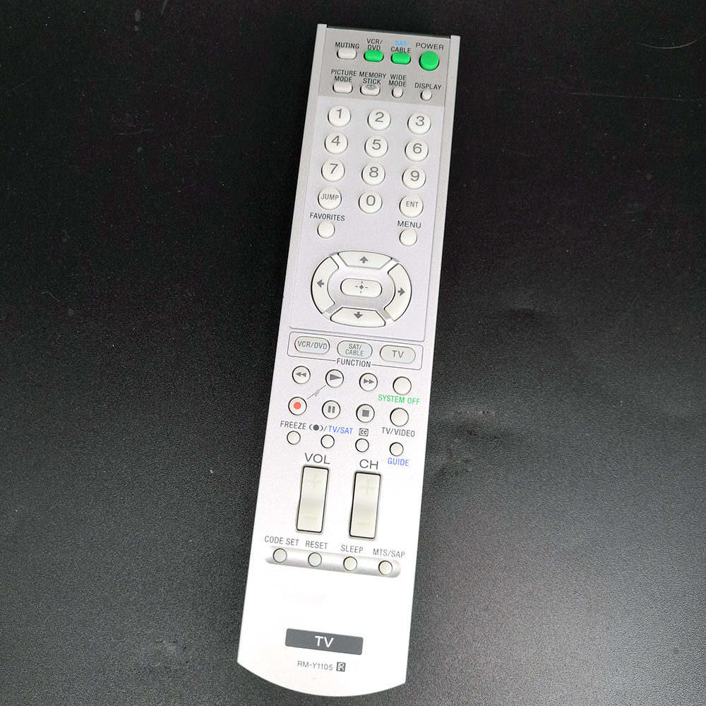 Used Original RM-Y1105 For Sony TV Remote Control KLV-21HG2