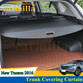 Car Interior Rear Trunk Luggage Cover Cargo refitting Dam Board Trunk Cover Curtain For Hyundai Tucson 2015 2016 Accessories