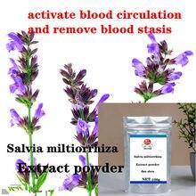 Salvia Miltiorrhiza Özü Tozu 10:1 Tanshinone, Çok Sayıda Stok, Dan Shen, Kaliteli