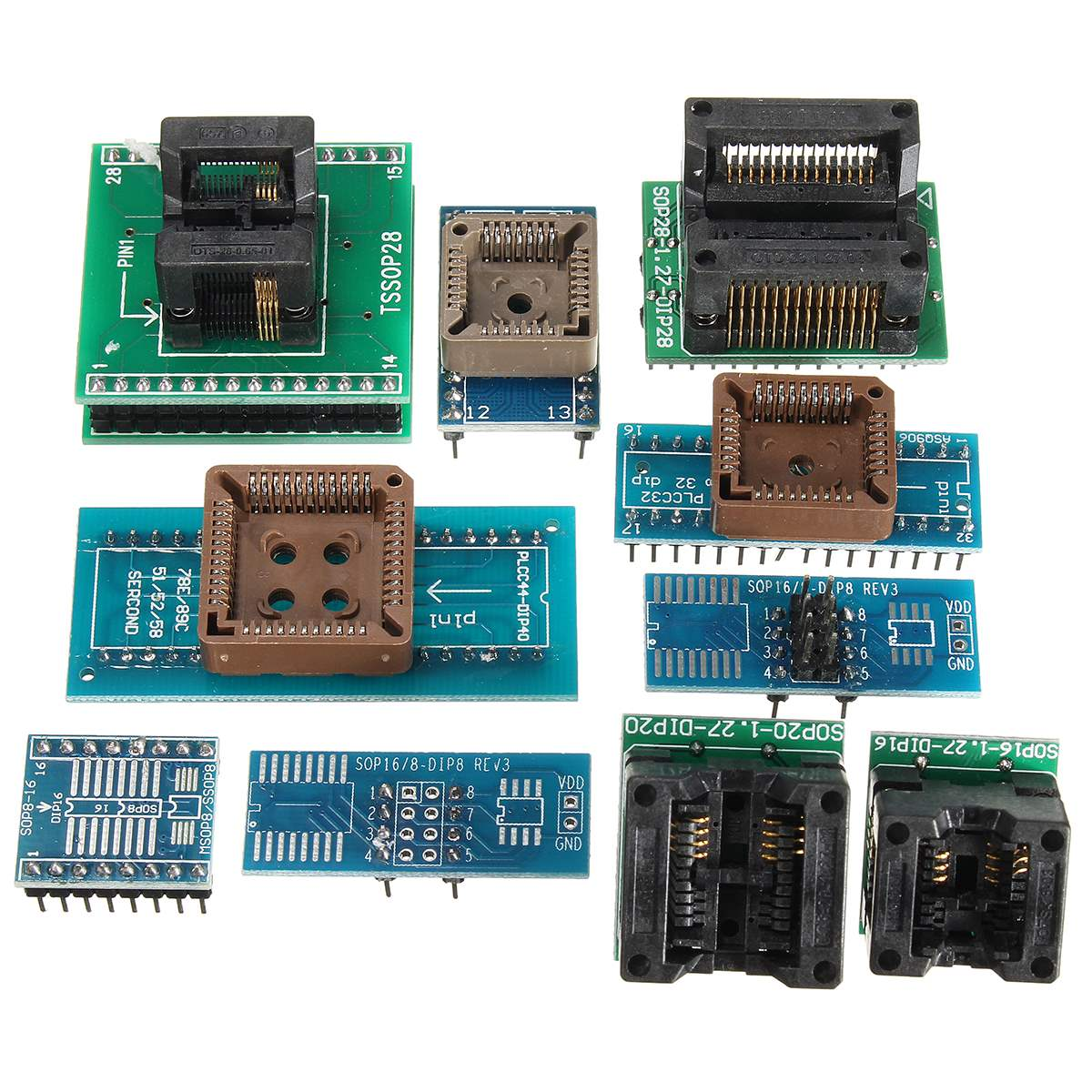 Tl866a Usb Minipro Programmer 10x Adapter Eeprom Flash 8051 Avr Mcu Circuit Spi Icsp In Electronics Stocks From Electronic Components Supplies On