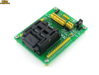 STM8-QFP32 QFP32 TQFP32 FQFP32 PQFP32 STM8 Yamaichi IC Test Socket Programming Adapter 0.8mm Pitch