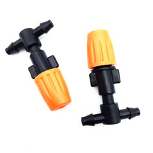 10 pcs Plant Lawn Irrigation Farmland Watering Dripper Sprayer Sprinkler 4/7 mm hose connectionFlowers conservation Garden Tools