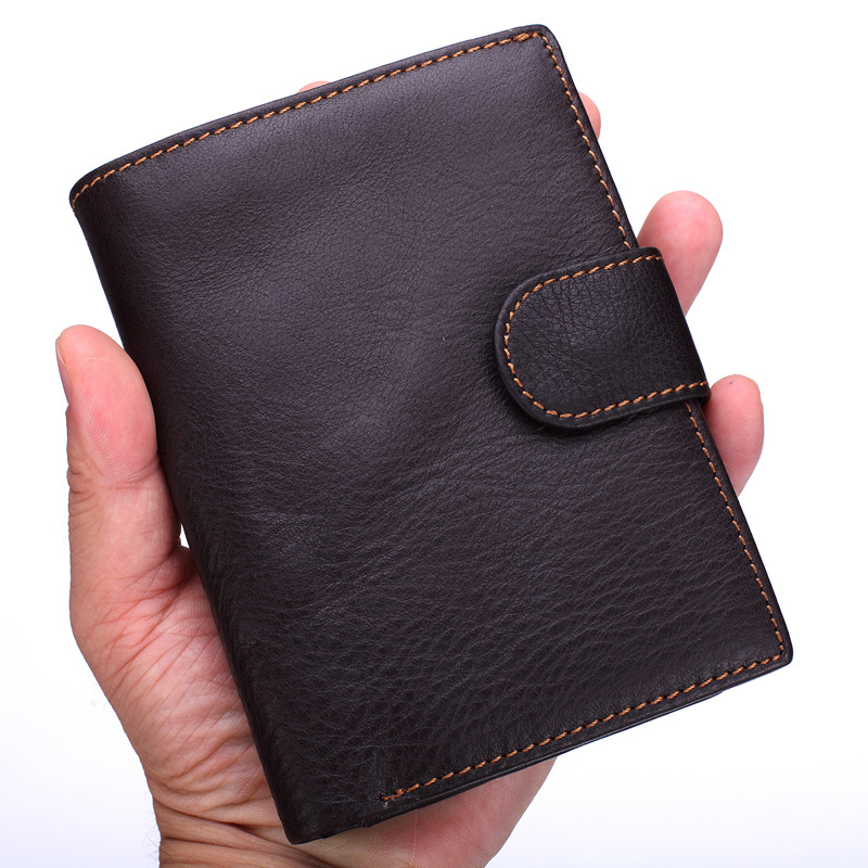 2017 Luxury Men Wallet Portable Genuine Leather Wallets Male Cluth Card Holders Men's Purse Big Capacity Short Wallet Carteira large capacity card id holders genuine leather package cluch bag new men s leather wallet fashion leisure leather wallet