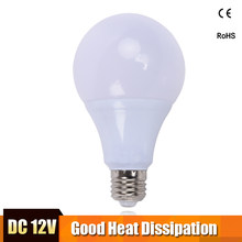E27 LED Bulb Lights 3W 5W 7W DC 12V Led Lamp 9W 12W 15W Energy Saving Lampada 12 Volts Led Light Bulbs for Outdoor Lighting(China)