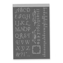 YaMinSanNiO Letter Die Alphabet Metal Cutting Dies Scrapbooking for Card Making Album Embossing Stencil Cut New 2019