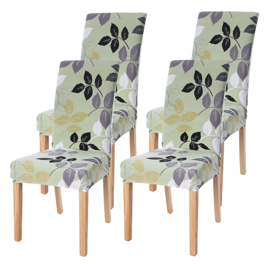 Stretch Chair Cover Elastics Seat Slipcovers Painting Zebra Striped For Weddings