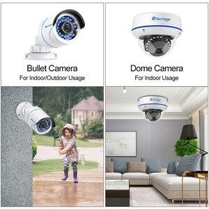 Image 3 - Techage 8CH POE 1080P الأمن NVR مجموعات 2MP الصوت نظام الكاميرا الصوت قبة رصاصة داخلي في الهواء الطلق طقم مراقبة CCTV 2 تيرا بايت HDD