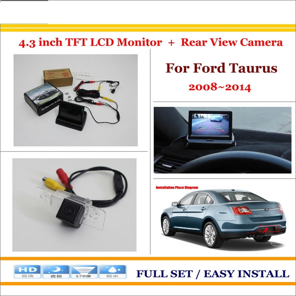 Liislee For Ford Taurus 20082014 Car Rearview Camera 43 Lcd F250 Rear View Wiring Diagram Hd Reverse Ntsc Pal Rca Connector