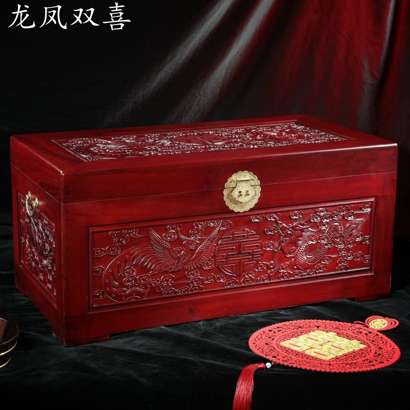 Antique wooden carving camphorwood BOX WEDDING dowry box containing camphor calligraphy storage box suitcase Zhangmu shipping dongyang woodcarving camphor wood furniture wood carved camphorwood box suitcase box antique calligraphy collection box insect d