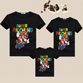 Mother & Kids Daughter Clothes Family Look Super Mario Blouse T Shirt Father Mother Son Shirt Family Matching Outfits Clothing