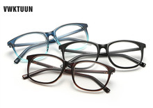 VWKTUUN New Women Eye Glasses Frames Plain Clear Glasses
