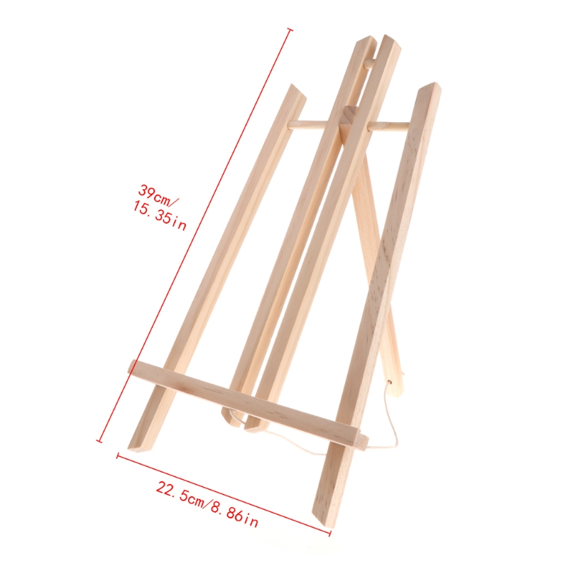 Houten Schildersezel Reclame Tentoonstelling Display Plank Houder Studio Schilderen Stand