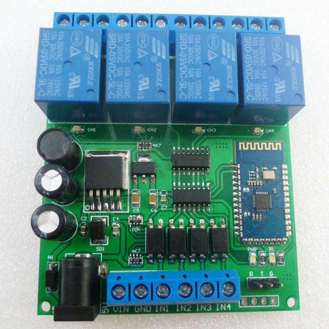 ce041 dc 5v 9v 12v 24v 4ch bluetooth relay android app wireless rh aliexpress com