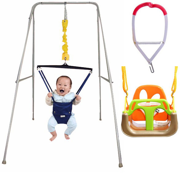 Baby fitness baby toy swing spring frame chair set-in Toy Sports ...