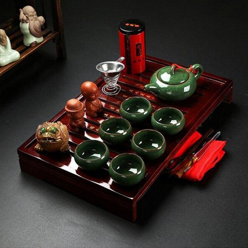 juegos de t de kung fu chino juego de t drinkware arcilla prpura cermica binglie tres