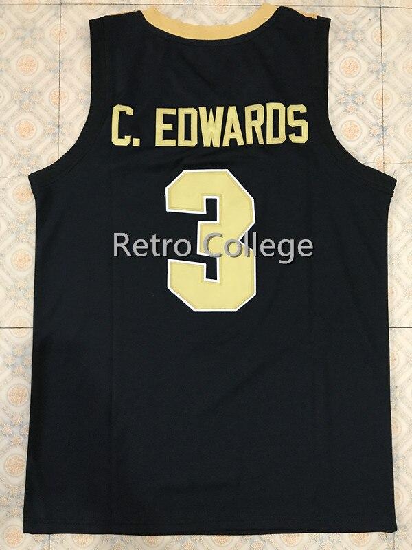 #3 карсен Эдвардс Пердью Колледж Возврат Баскетбол Джерси сшитые вышивка любой номер и имя