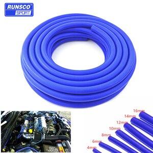 Image 1 - Tubo de aspiración de silicona, manguera de refrigerante, tubería de silicona, Intercooler, ID de tubo de 4mm, 6mm, 8mm, 10mm, 12mm