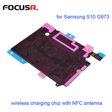 Wireless Charging Chip with NFC Antenna for Samsung Galaxy S10 G973 Mobile