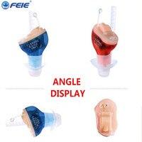 Guangzhou FEIE Mini S 10B Hearing Aid Cic Feie Micro Ear Digital Hearing Amplifier For Elderly